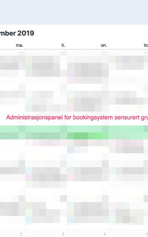 Bookingsystem